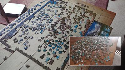 Puzzle undone